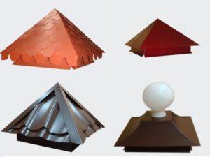 Металлический колпак  выполняет защитную функцию