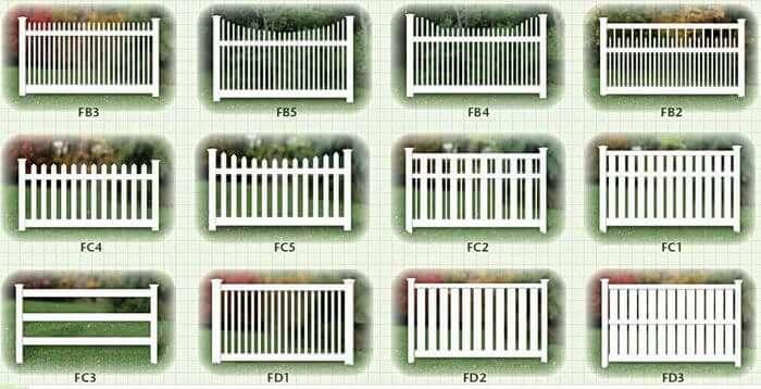 Разновидности секционных перегородок