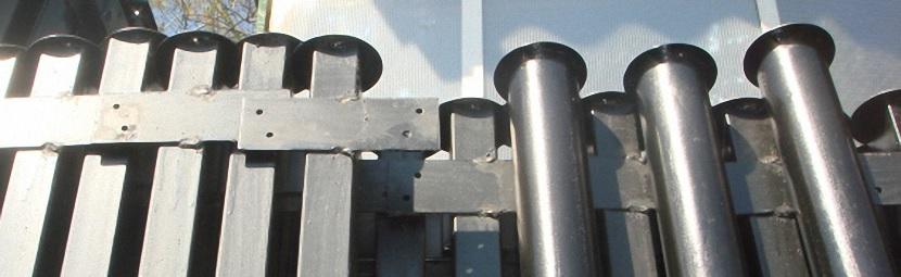 Металлические трубы для забора