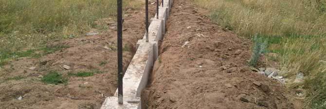 Не рекомендуется возведение столбчатых фундаментов на подвижных грунтах