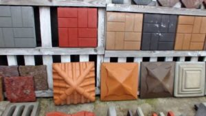 Различные виды бетонных колпаков