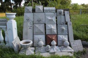Пирамидообразные и черепицеобразные заборные колпаки