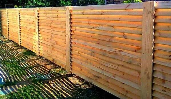 Забор - жалюзи