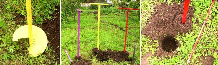 Контролируйте опорожнение скважины от грунта и не бурите долго
