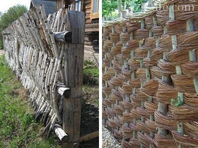 Различные способы плетения